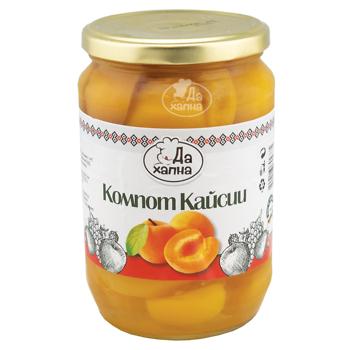 Da Hapna apricot compote 720 g