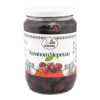 Da Hapna compote of cherries 720 g