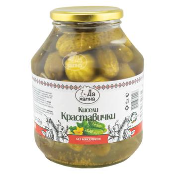 Da Hapna pickled gherkins 17 kg