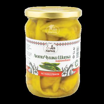 Da Hapna hot peppers marinated shipka 580 g