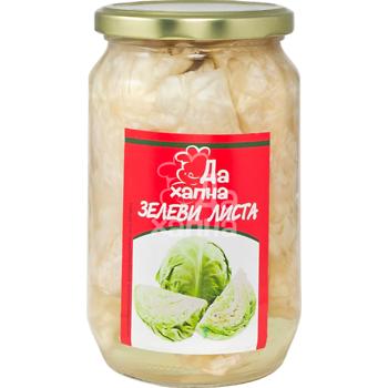 Da Hapna cabbage leaves jar 680 g